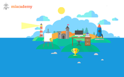 <strong>Miacademy homepage.</strong>