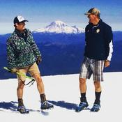 Tate Nelson & Rob Nelson on top of Mt. Kilimanjaro