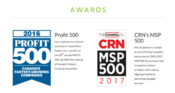 Mico Systems placed as both an MSP500 CRN Managed IT Provider and a Canadian Business Profit 500.