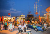 <strong>Worth Avenue Yachts display at the Palm Beach International Boat Show last year</strong>