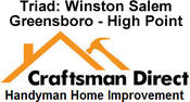 <strong>Craftsman Direct Handyman of Winston Salem Offering Home Owners Spring Projects Including Bathroom Remodels, House Painting Services and Outdoor Decks and Screened Porches</strong>
