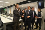 <strong>Prime Minister of Kazakhstan Bakytzhan Sagintayev with Andrey Kunov, President of Silicon Valley Innovation Center</strong>
