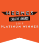 Page 1 Solutions Wins Platinum and Gold in Website Design Category at 2017 Hermes Creative Awards