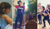 <strong>Lexi Vernon, on activation day at 19 months, in her travel fast pitch softball uniform, on the mound, and on the basketball court at 9 years.</strong>