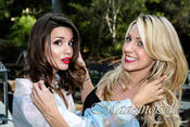 <strong>Masiela Lusha and Heather Perkins lead hair stylist for The Victoria Napolitano Group LLC</strong>
