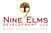 <strong>The new Nine Elms logo, complete with an updated tagline that reads &quot;Market access, simplified.&quot;</strong>