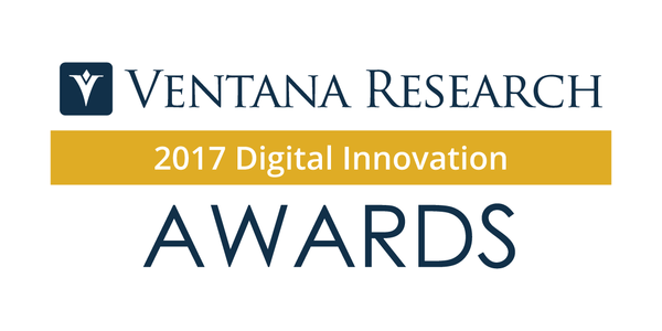 Ventana Research Announces the 2017 Digital Innovation Awards