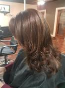 <strong>Layer Cut Blow Dry Style by Hair Stylist in Arlington TX Amber Washington</strong>