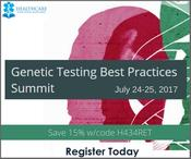 <strong>Genetic Testing Best Practices Summit - Claim coding to guidelines regulations to laboratory utilization</strong>