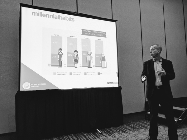 "Michael Walters Advertising (MWA) Presents ""Marketing To Millennials"" At The 2017 National Association of Mutual Insurance Companies (NAMIC) Convention"