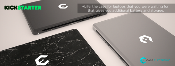 Case Electronic has Launched a Crowdfunding Campaign for their Project: +Life, a Case for Laptops
