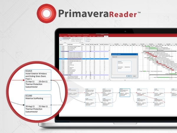 PrimaveraReader Brings New Features for Easy Visual Analysis