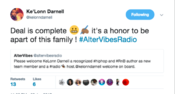<strong>Darnell announced he is becoming a part of AlterVibes family.</strong>