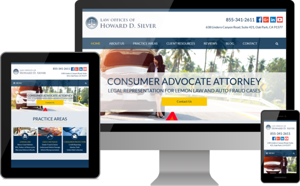 Law Offices of Howard D. Silver Relaunches Website for Lemon Law and Consumer Fraud Cases