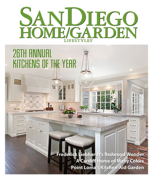 Jackson Design and Remodeling Wins Kitchen of the Year Award for a Fresh Traditional Kitchen in Historic La Jolla Home