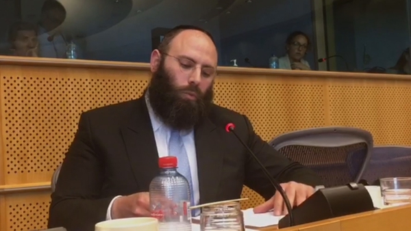 European Jewish Association lead Rabbi slams European Parliament for Keeping Silent in the Face of anti-Semitism