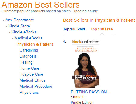 "Dr. Santrell Hart-Moreland Releases Her New Book, ""Putting Passion Into Practice: Realize That Patients are People Too"""