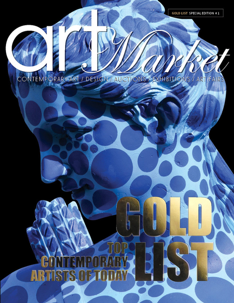 THE GOLD LIST- Top Contemporary Artists of Today. The International Art Market Magazine Introducing Special Edition –  Now Available on all Barnes & Noble Bookstores in US & Canada