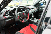 <strong>Civic Type R interior details from the first Type R delivered by Wilde East Towne Honda.</strong>