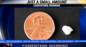 <strong>In the Line of Duty - lethal carfentanil dose compared to a penny</strong>