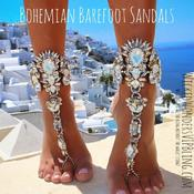 <strong>Bohemian Barefoot Sandals.</strong>