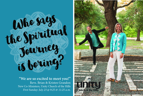 Unity Church of the Hills Announces New Co-Ministers