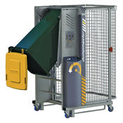 <strong>The Dockmaster Bin Tipper from Solus Group is designed specifically for use on loading docks.</strong>