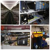 Installation of hardware on aircraft and certification testing
