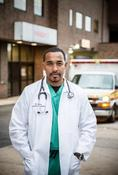 <strong>Dr. Sampson Davis, Emergency Medicine Physician and Author &quot;Living & Dying in Brick City&quot;</strong>
