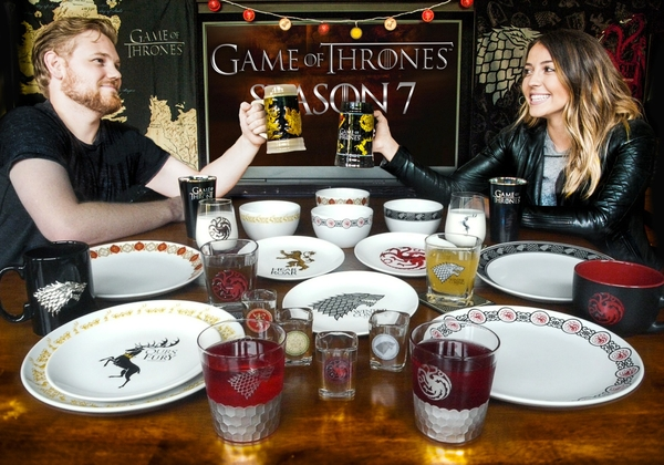 Plan The Ultimate Game of Thrones Viewing Party with New Party-Planning Gear from Rabbit Tanaka