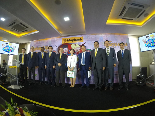Maybank Foundation and MoneyTree Expand Cashville Kidz Program in Cambodia