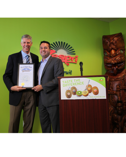 Zespri Hosted New Zealand Traditional Blessing to Celebrate Opening of North American Headquarters
