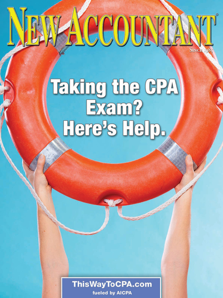 "NEW ACCOUNTANT's Current Issue Explores ""Taking the CPA Exam? Here's Help"""