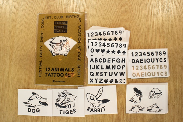 Orientypes Launched 'Chinese Zodiac Tattoo Sticker' at Kick Starter