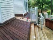 Carlton Cleans recommends that homeowners stain decks during the fall, or during the driest season of the year.
