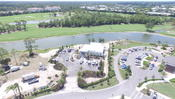 <strong>EHC developed the building pad, underground storm drainage and utilities, parking lot, and final grading for the 4,000-square foot London Bay Homes Sales Center at Naples Grande.</strong>