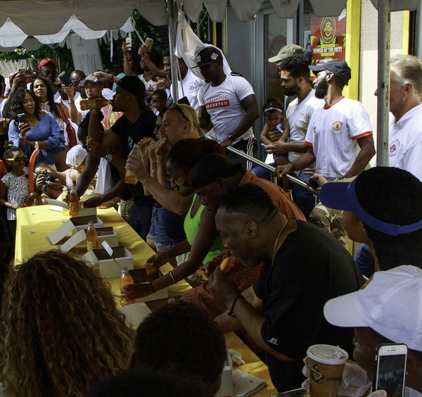 Golden Krust Caribbean Bakery & Grill (GK), the Nation's Largest Caribbean Franchise Chain Celebrated their 3rd Annual National Jamaican Patty Day