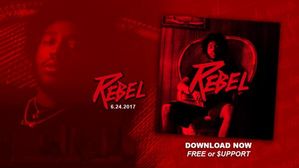 """Rapper Zane Smith Announces New Album """"Rebel"""""""