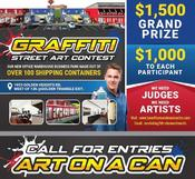 Cutline: Art on a Can Contest images and logos