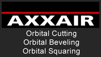 AXXAIR USA will Exhibit at CANWELD EXPO in Canada and FabTech 2017-Chicago with Orbital Cutting, Facing, Beveling and Welding Machines in the Booth
