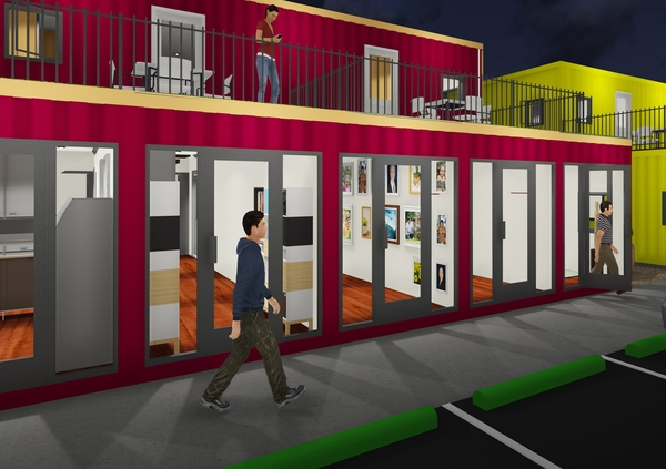 Electric Chargers Added to Innovative Shipping Container Business Park