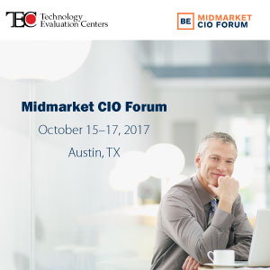 Technology Evaluation Centers Joins Fall Midmarket CIO Forum to Share Top Software Selection Advice