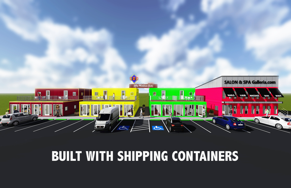 Recycled Shipping Containers to House New Business Park in North Fort Worth