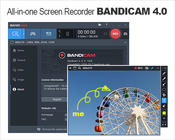 <strong>Bandicam Screen Recorder - The best recording software for screen, game and webcam capture.</strong>