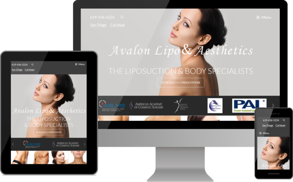 Avalon Lipo & Aesthetics Debuts New Mobile-Friendly Website
