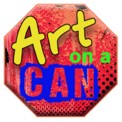 <strong>Cutline: &quot;Art on a Can&quot; Contest signs and logos</strong>
