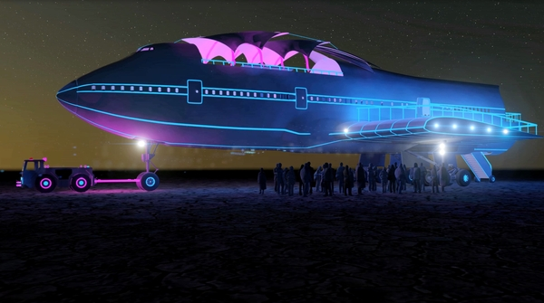 250,000 pounds of Big Imagination–Ready to Take Flight at Burning Man