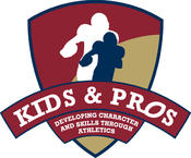 <strong>Kids & Pros is a non-profit corporation and character-based youth sports organization that engages retired NFL Players in their communities to teach football skills and character lessons to youth.</strong>