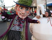 <strong>Mad Hatter and Tea Pot Mascot</strong>