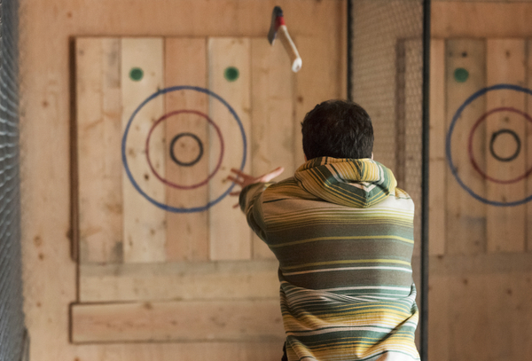 Don't Forget Your Plaid! Axe Throwing is the Sea To Sky Corridor's Favourite New Activity